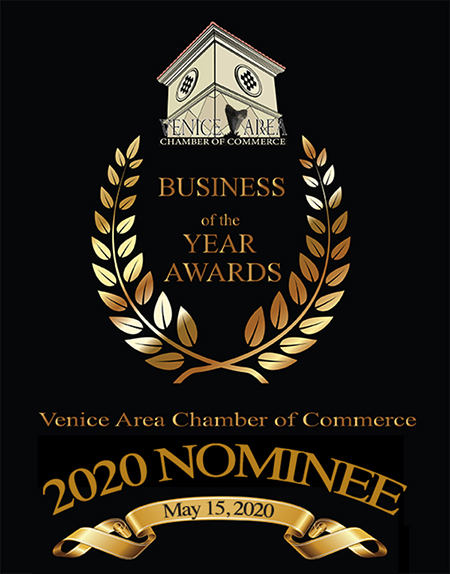 2020 Business of the Year Award nominee badge